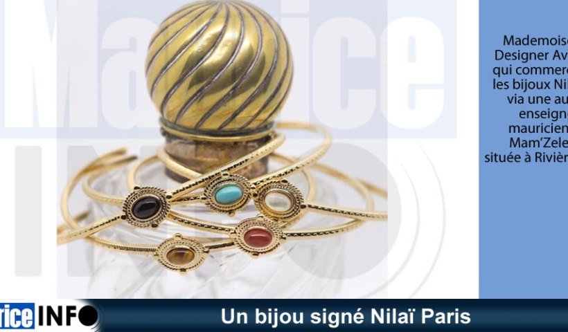 Un bijou signé Nilaï Paris