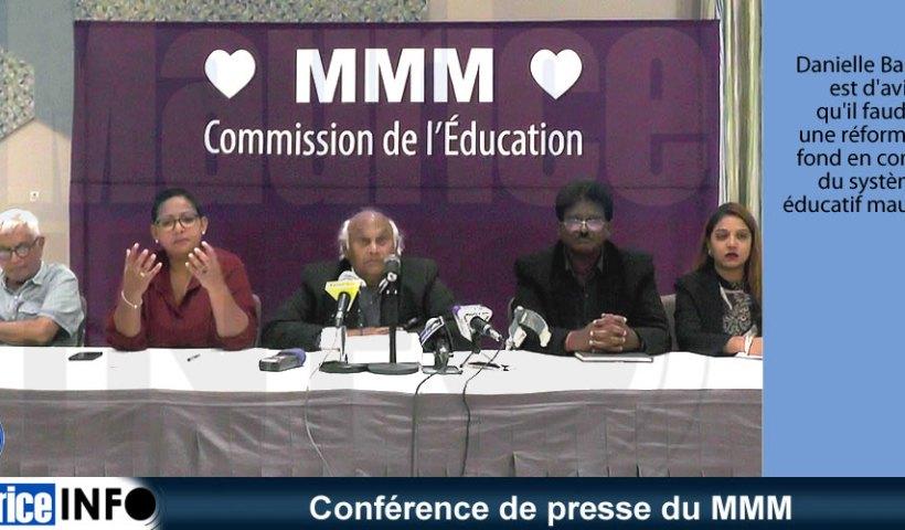 Conférence de presse du MMM du 1er mars 2019