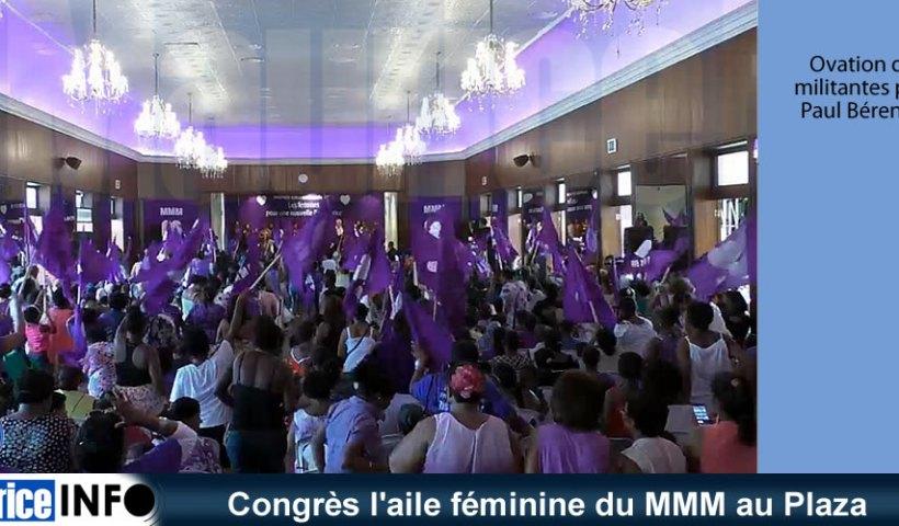 Congrès l'aile féminine du MMM au Plaza