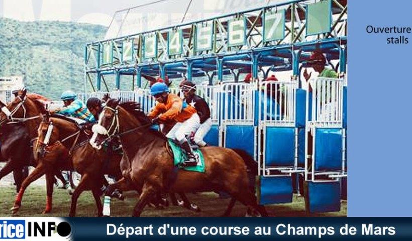 Départ une course au Champs de Mars