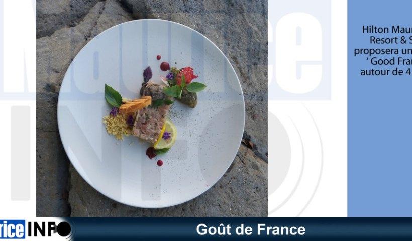 Goût de France au Hilton