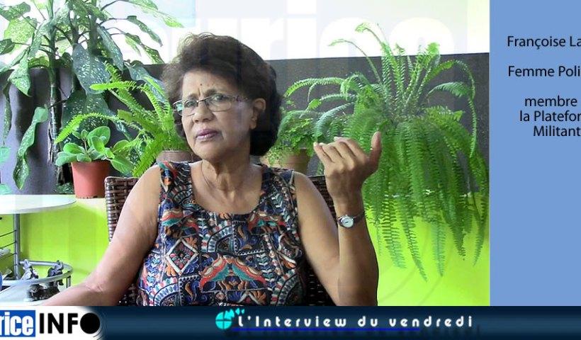 L'Interview du Vendredi de Françoise Labelle