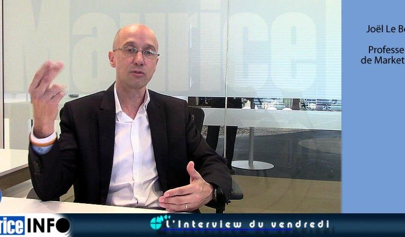 L'Interview du Vendredi Joël Le Bon Professeur de Marketing.