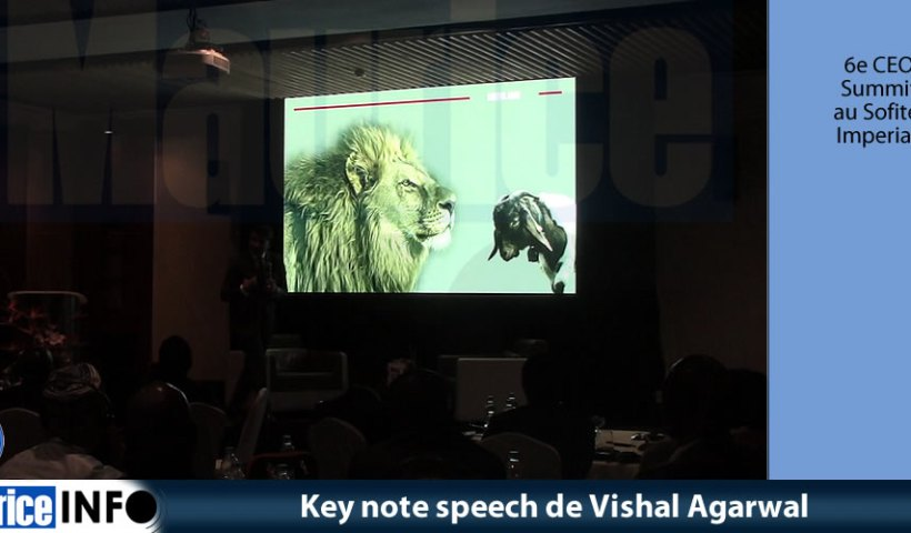 Key note speech de Vishal Agarwal