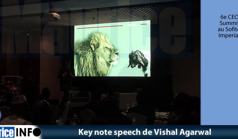 Key note speech de Vishal Agarwal