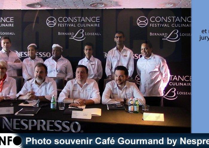 Photo souvenir Café Gourmand by Nespresso 2019