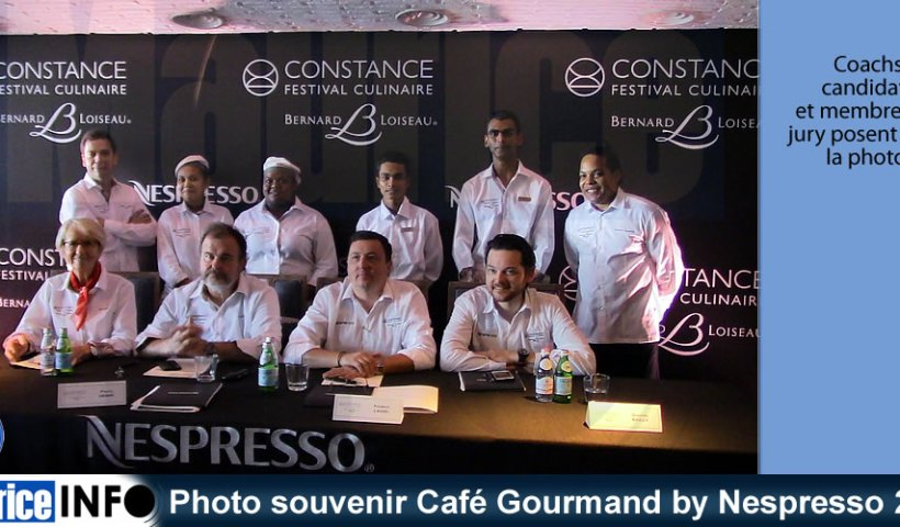 Photo souvenir Café Gourmand by Nespresso 2019