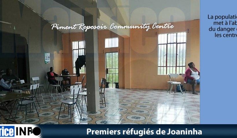 Premiers réfugiés de Joaninha