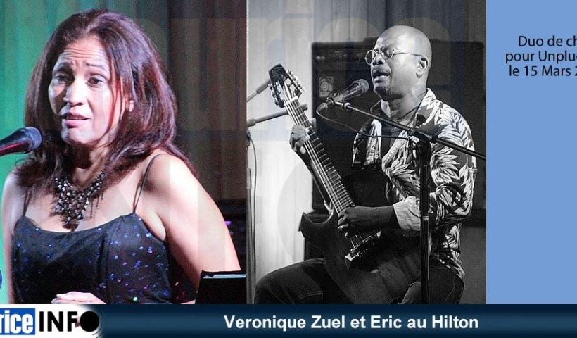 Veronique Zuel et Eric au Hilton