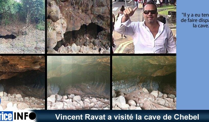 Vincent Ravat a visité la cave de Chebel