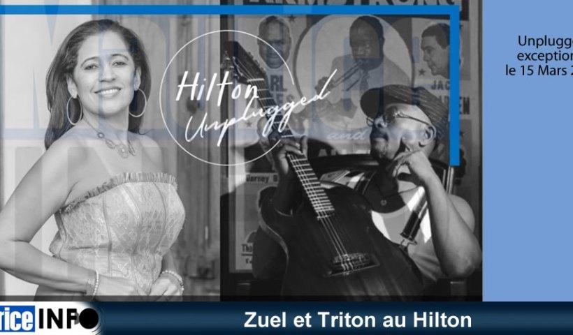 Zuel et Triton au Hilton