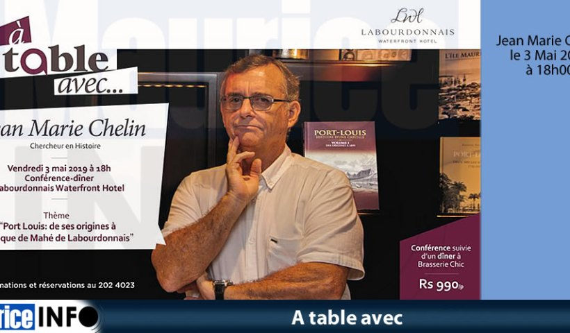 A table avec Jean Marie Chelin