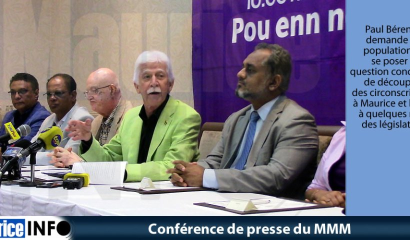 Conférence de presse du MMM du 5 Avril 2019