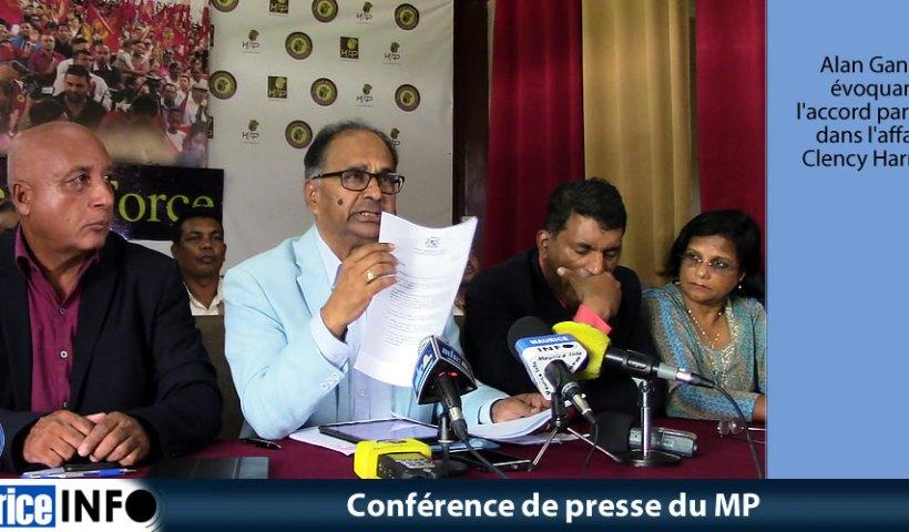 Conférence de presse du MP du 13 AVril 2019