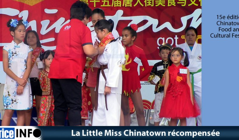 La Little Miss Chinatown récompensée