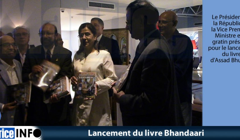 Lancement du livre Bhandaari
