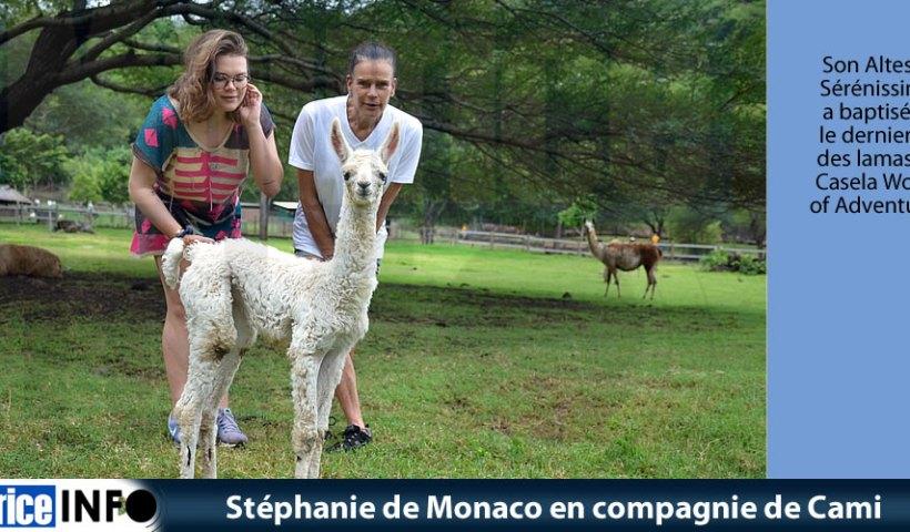 Stéphanie de Monaco en compagnie de Cami