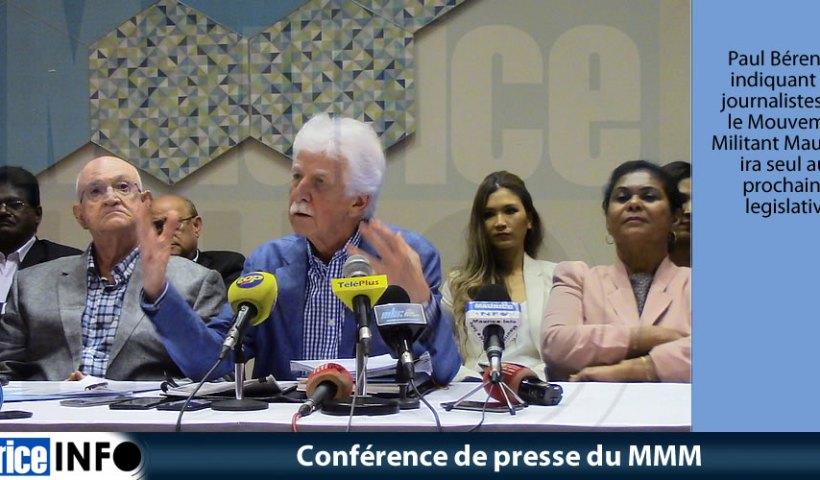 Conférence de presse du MMM du 11 Mai 2019