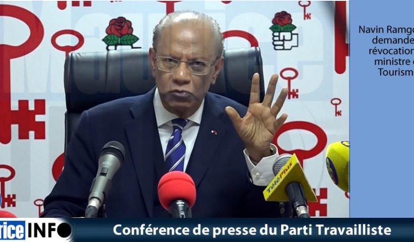 Conférence de presse du Parti Travaillistedu 29 Mai 2019