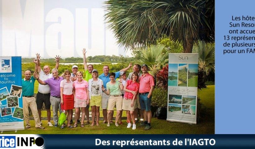 Des représentants de l'IAGTO