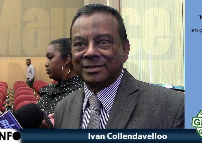 Ivan Collendavelloo a dit