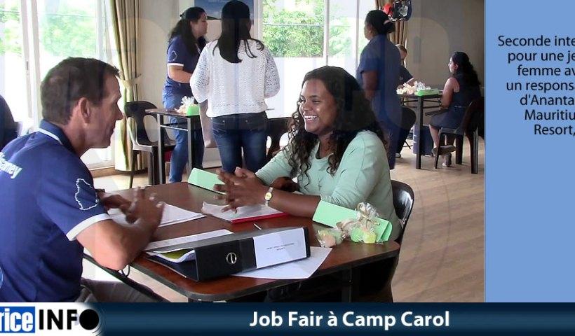 Job Fair à Camp Carol