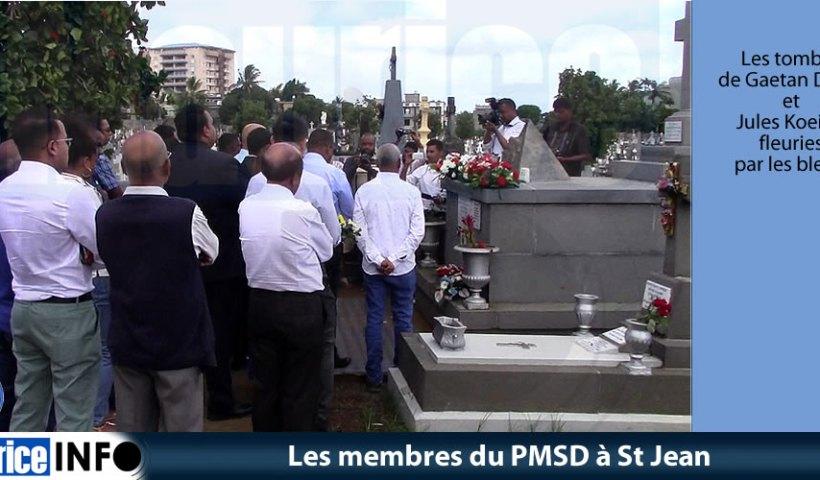 Les membres du PMSD à St Jean