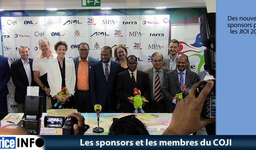 Les sponsors et les membres du COJI