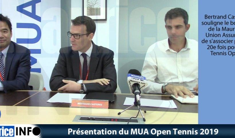 Présentation du MUA Open Tennis 2019