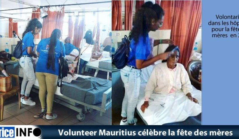 Volunteer Mauritius célèbre la fête des mères
