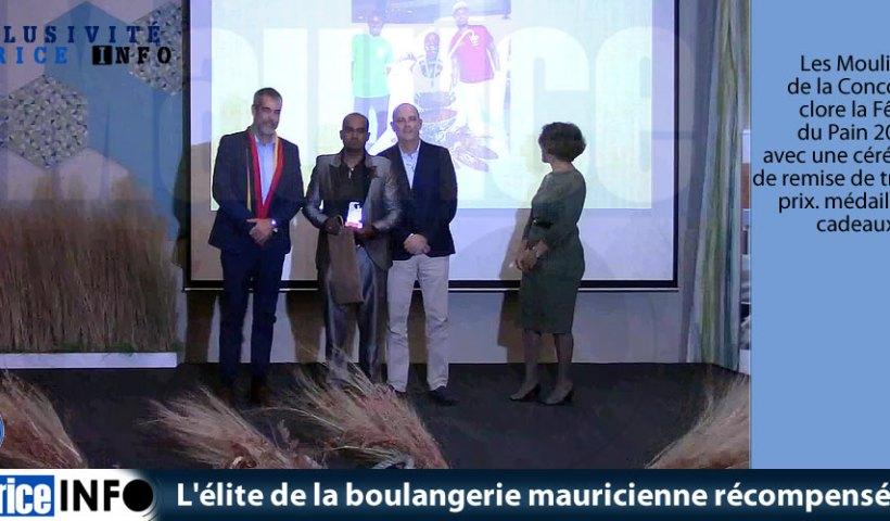 L'élite de la boulangerie mauricienne récompensée