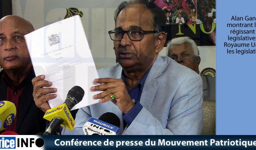 Conférence de presse du MMM du 29 Juin 2019