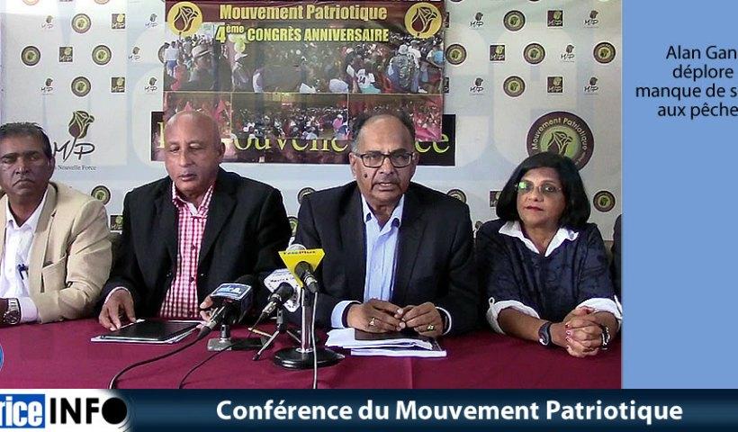 Conférence du Mouvement Patriotique du 12 juin 2019