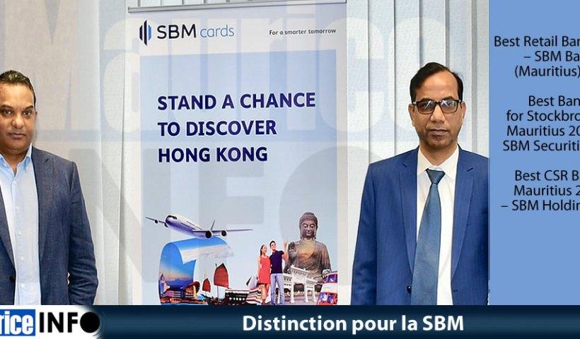 Distinction pour la SBM