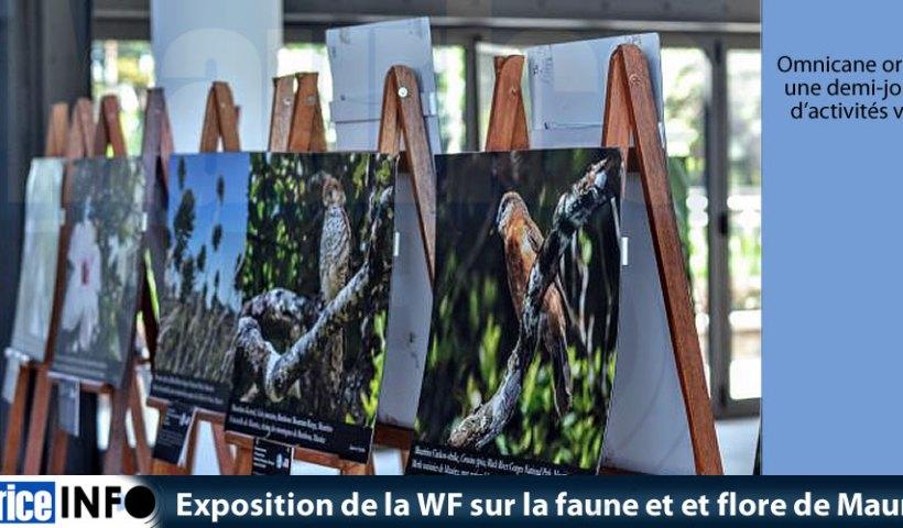 Exposition de la MWF sur la faune et et flore de Maurice