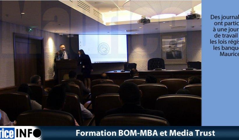 Formation BOM-MBA et Media Trust