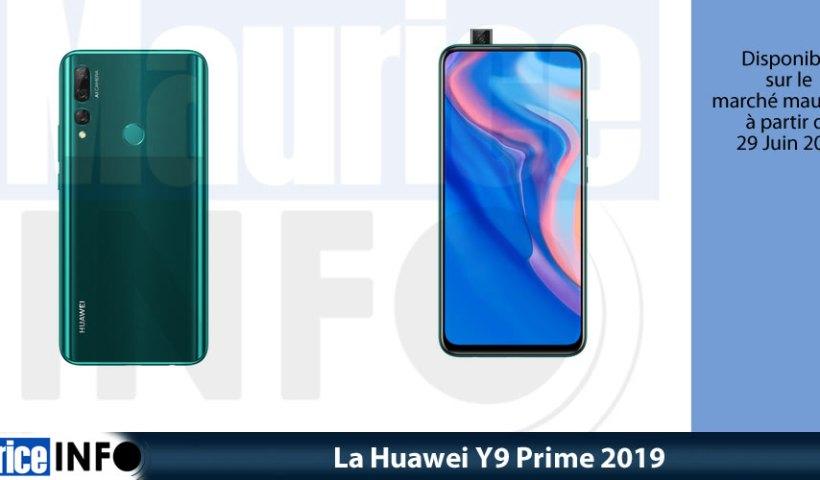 La Huawei Y9 Prime 2019