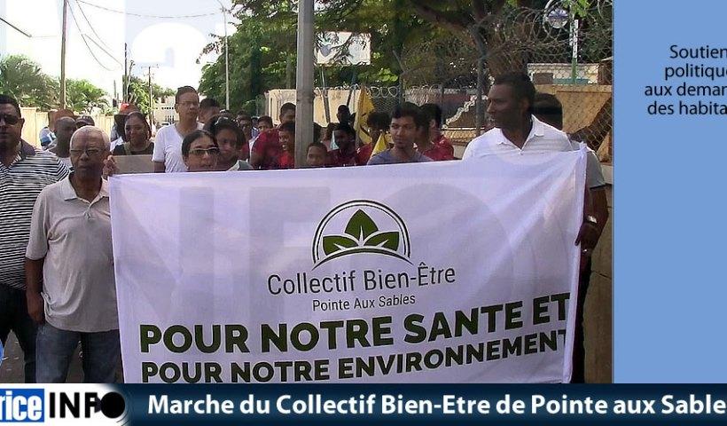 Marche du Collectif Bien-Etre de Pointe aux Sables