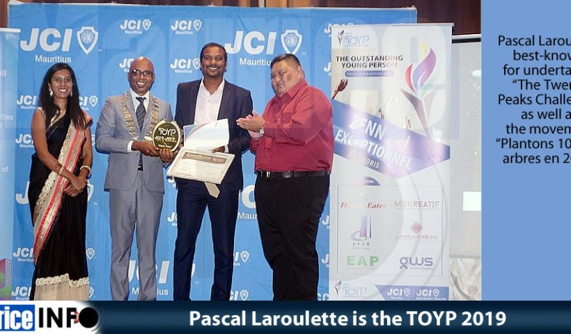 Pascal Laroulette is the TOYP 2019