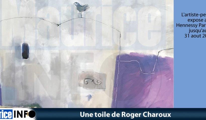 Une toile de Roger Charoux