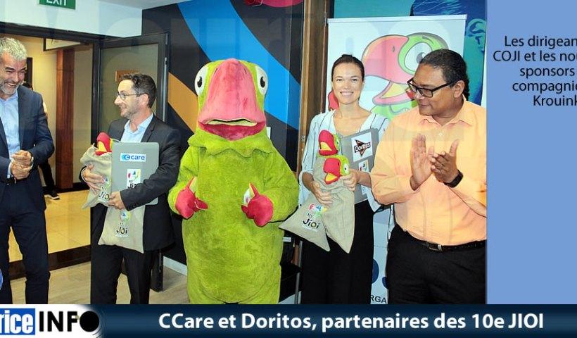 CCare et Doritos partenaires des 10e JIOI
