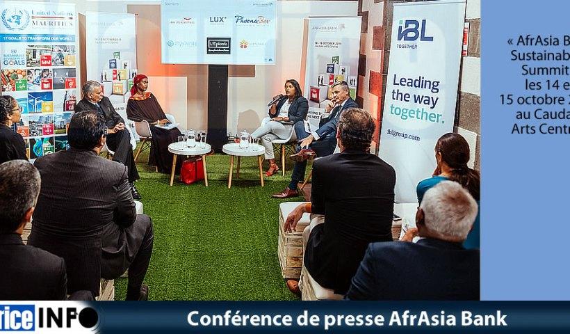 Conférence de presse AfrAsia Bank