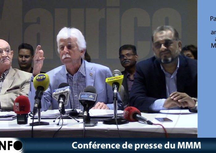 Conférence de presse du MMM du 13 Juillet 2019