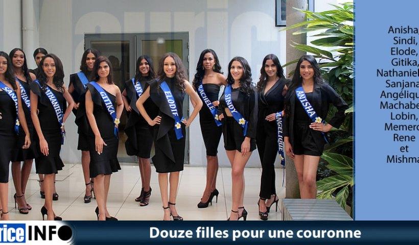 Douze filles pour une couronne