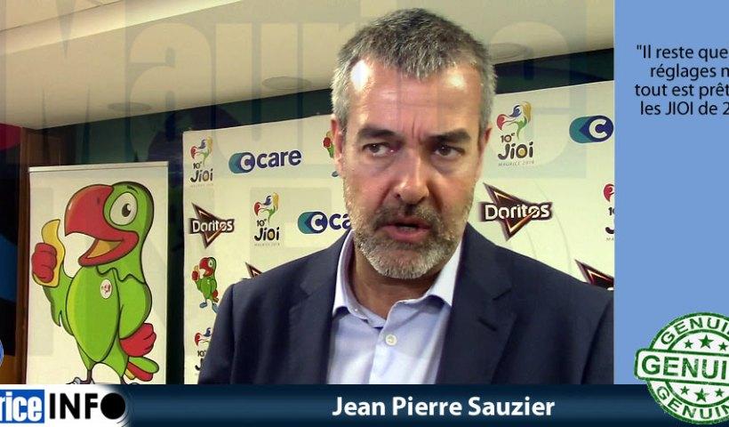 Jean Pierre Sauzier a dit
