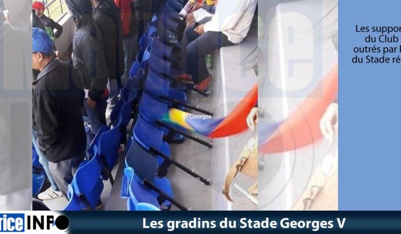 Les gradins du Stade Georges V