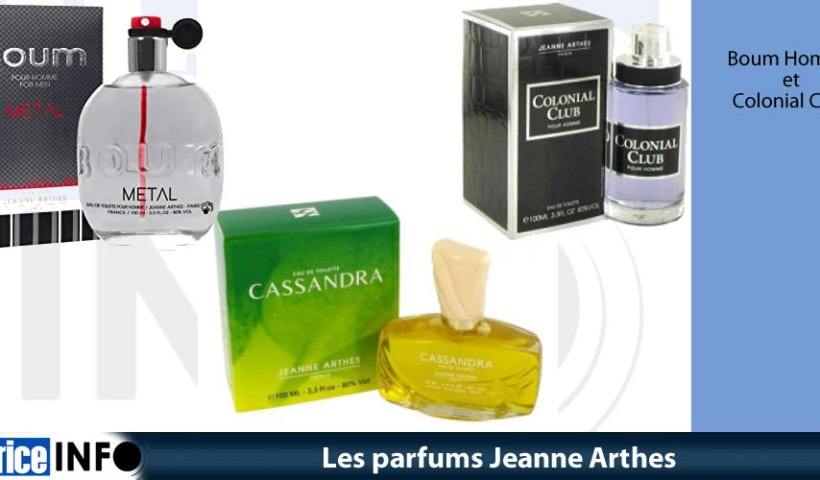 Les parfums Jeanne Arthes