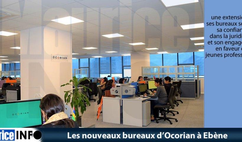Les nouveaux bureaux d'Ocorian à Ebène