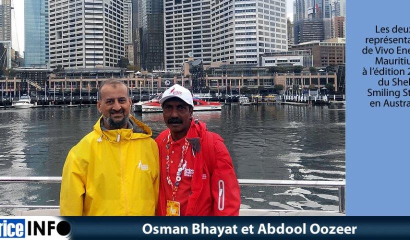Osman Bhayat et Abdool Oozeer