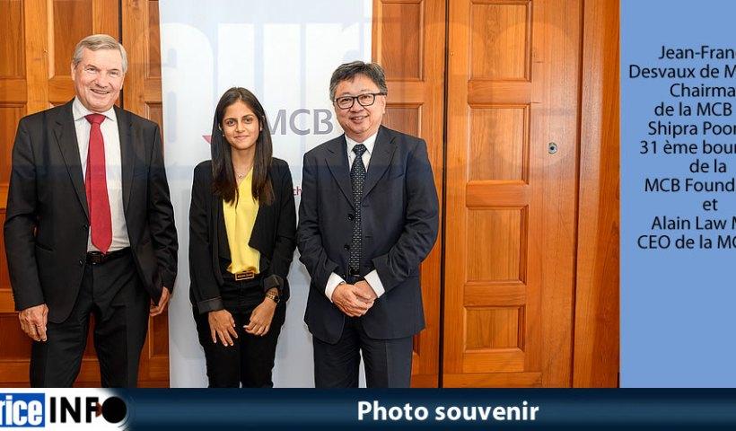 Photo souvenir MCB Foundation